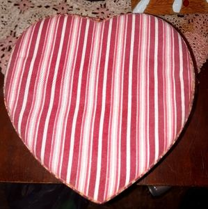 Heart shaped storage box.